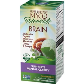 Host Defense Myco Botanicals Brain 60vcaps