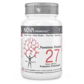 Nova Nova Probiotics women 27bil 60gels