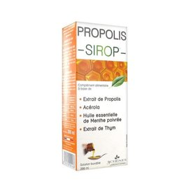 Propolis Propolis Syrup 200ml (with thyme and peppermint oil)