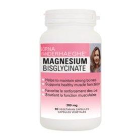 Lorna Vanderhaeghe Pure Magnesium Bisglycinate 130mg 90vcaps
