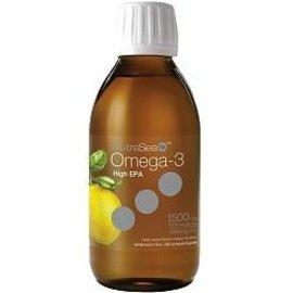 NutraSea NutraSea HP High EPA Omega-3 200 ml Lemon Flavor