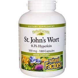 Natural Factors St. John s Wort 0.3% Hypericin 300mg 90caps