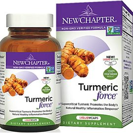 New Chapter Turmeric force 60 capsules