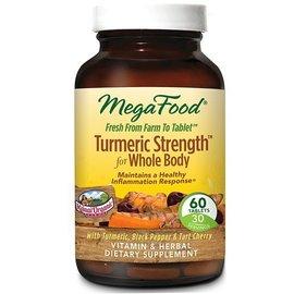 Mega Food Turmeric Strength 60 tablets