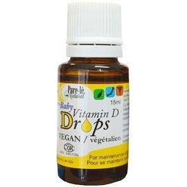 Pure Le Vitamin D drops Vegan 15ml