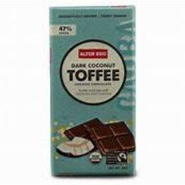 Alter Eco Fair Trade Dark Coconut Toffee