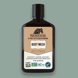 Warhorse Cedarwood Spice Body Wash