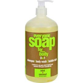 Everyone Everyone Soap MInt & Coconut 473ml