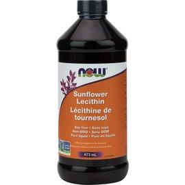 Now Sunflower Liquid Lecithin Non-GMO 473mL