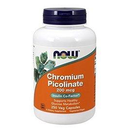 Now Chromium Picolinate 200mcg 100cap