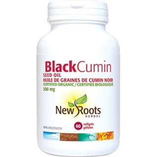New Roots Black Cumin seed oil 60 softgels