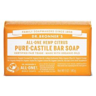 Dr. Bronner Citrus Orange Bar Soap