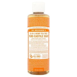 Dr. Bronner Tea Tree liquid castille soap 16 OZ