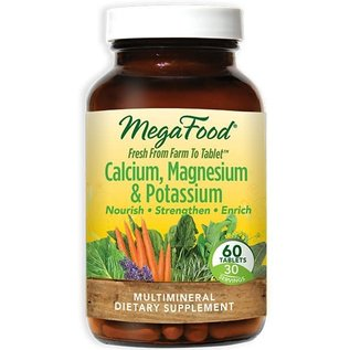 Mega Food Calcium/Magnesium/Potassium  60tabs