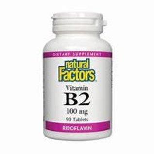 Natural Factors B2 Riboflavin 100 mg 90/TAB