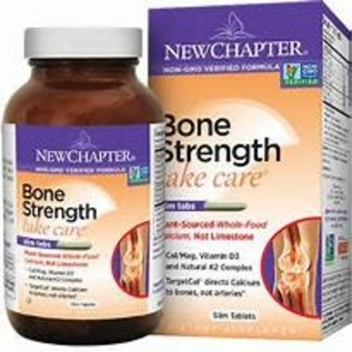 New Chapter Bone Strength Take Care120 t