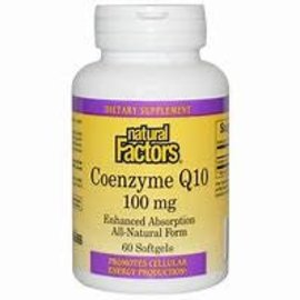 Natural Factors Coenzyme Q10 100 mg 120g