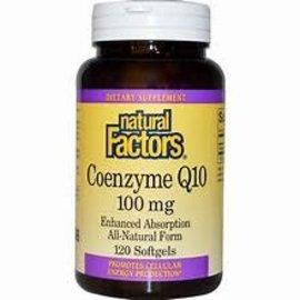 Natural Factors Coenzyme Q10 100 mg 120/SG