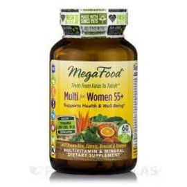 Mega Food Multi for women 55+ 60 tabs