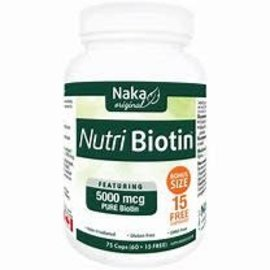 Naka professional nutri biotin 5000mcg