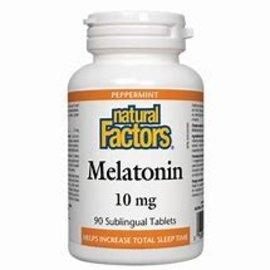 Natural Factors Stress-Relax Melatonin 10 mg Chewable 60/TAB