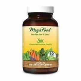 Mega Food Zinc 60 tablets