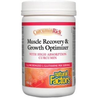 Natural Factors Muscle Growth and Recovery Optimizer 156g
