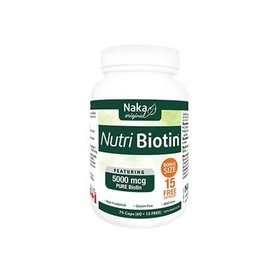 Naka professional Nutri Biotin 75caps 5000 mcg