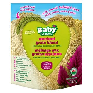 Organic Baby Gourmet Organic Ancient grain blend from 6 months 227g