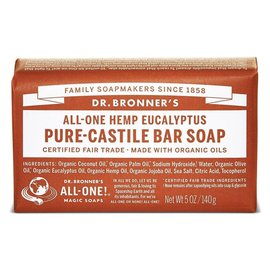 Dr. Bronner Eucalyptus Bar Soap