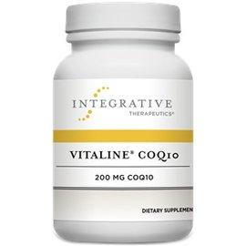 Integrative Therapeutics Vitaline CoQ10 100mg w vitamin  E Orange Creme Flavour 30chewable tabs