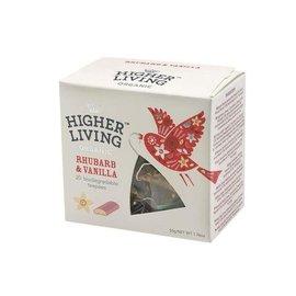 Higher Living Rhubarb & Vanilla Tea 20 bags