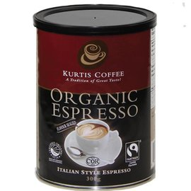Kurtis Coffee Organic Espresso 300g