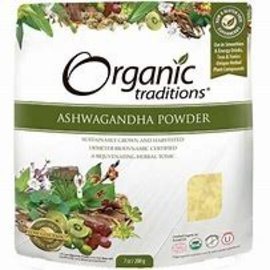 Organic Traditions Ashwagandha Powder 200g