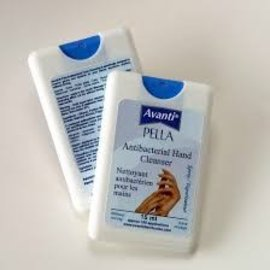 Pella Avanti Natural Hand Sanitizer spray -travel size