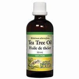 Natural Factors Tea Tree Oil 100% 50ml