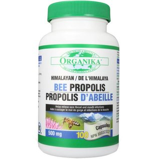 Organika Bee Propolis 500mg 100caps