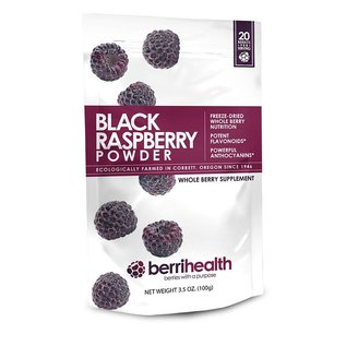 BerriHealth Black Raspberry Powder Supplement 100g