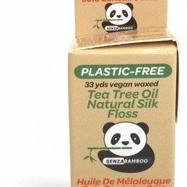 Senzacare Plastic-free Floss with tea tree oil 30m