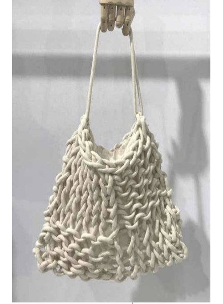 """Dora"" Medium Rope Tote Bag"