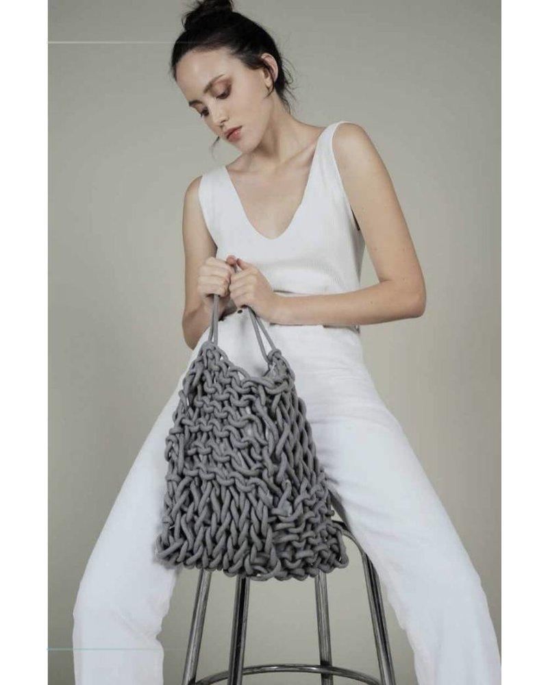 """Dora"" Medium Rope Tote Bag"
