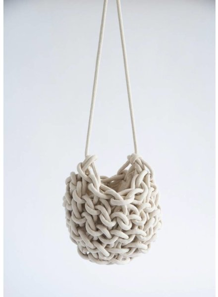 """Nadia"" Rope Bucket Bag"