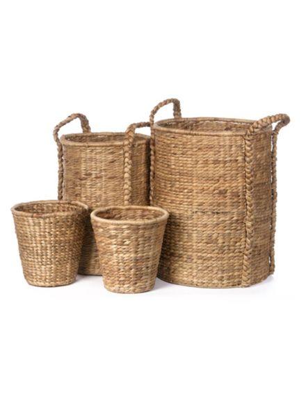 Tall Round Hyacinth Storage Basket (Large)