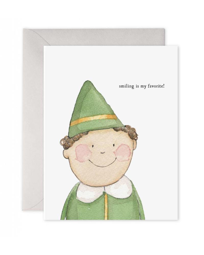 Smiling Buddy Greeting Card