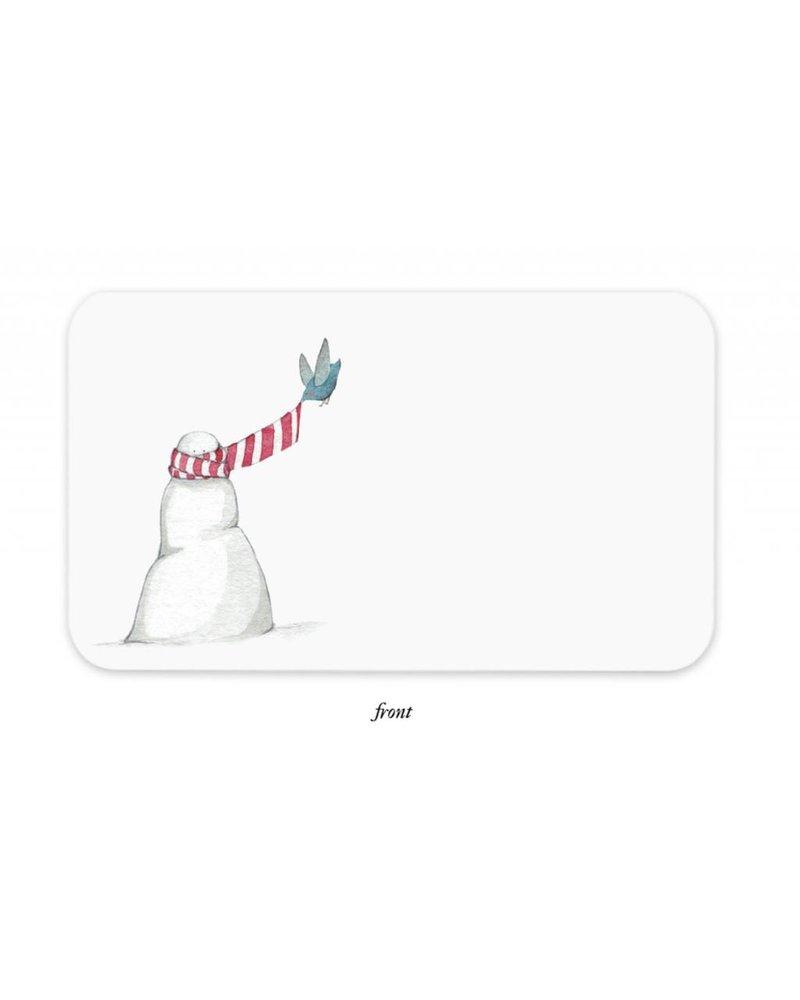 Snowman Little Notes