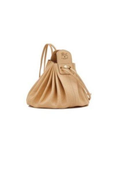 Cowhide Cross Body Bag (Natural)