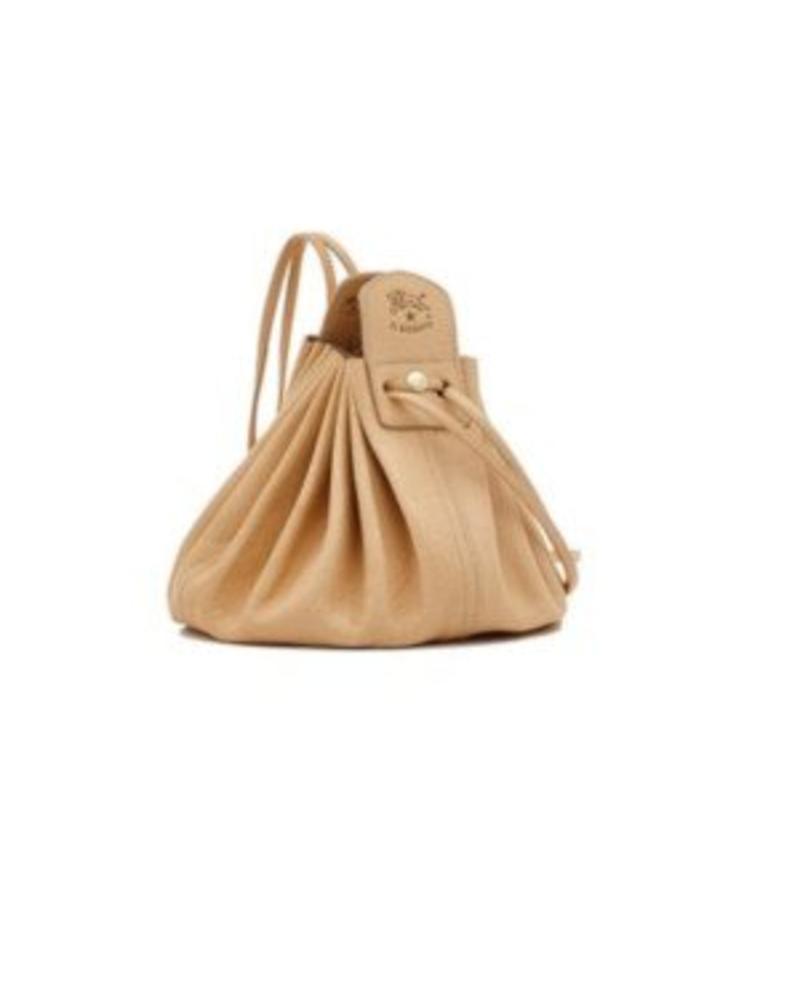 Cowhide Cross Body Bag (A0049.P)-Natural