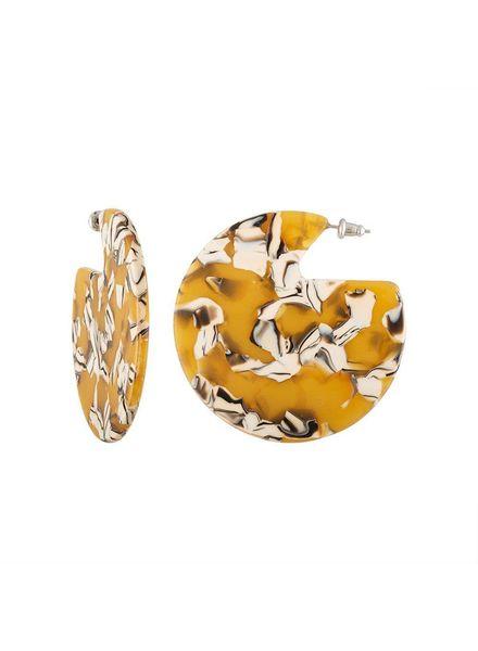 MACHETE Clare Earrings Calico