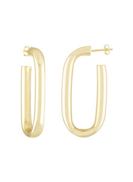 MACHETE Maya Earrings 14 K
