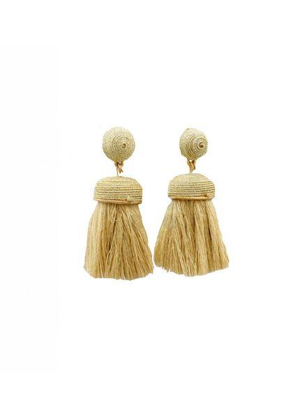 Tassel Earrings (Gold/Gold)